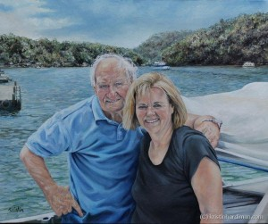 Libby and Rosco portrait