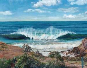 Big wave at Spookies 2