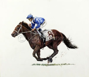 Winx at the 2017 George Ryder